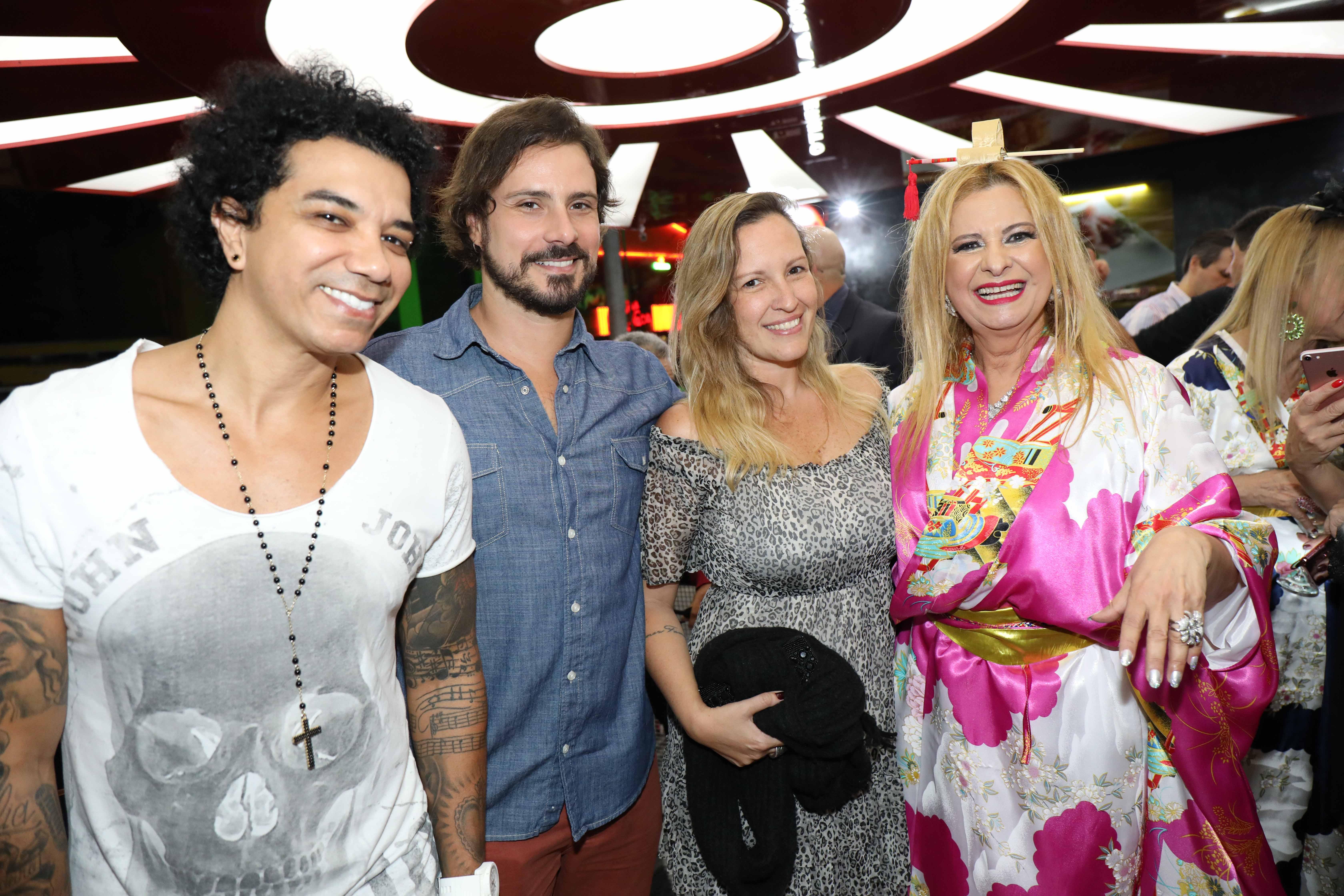 JF, Sergio Abreu, Priscila e Lilian Gonçalves