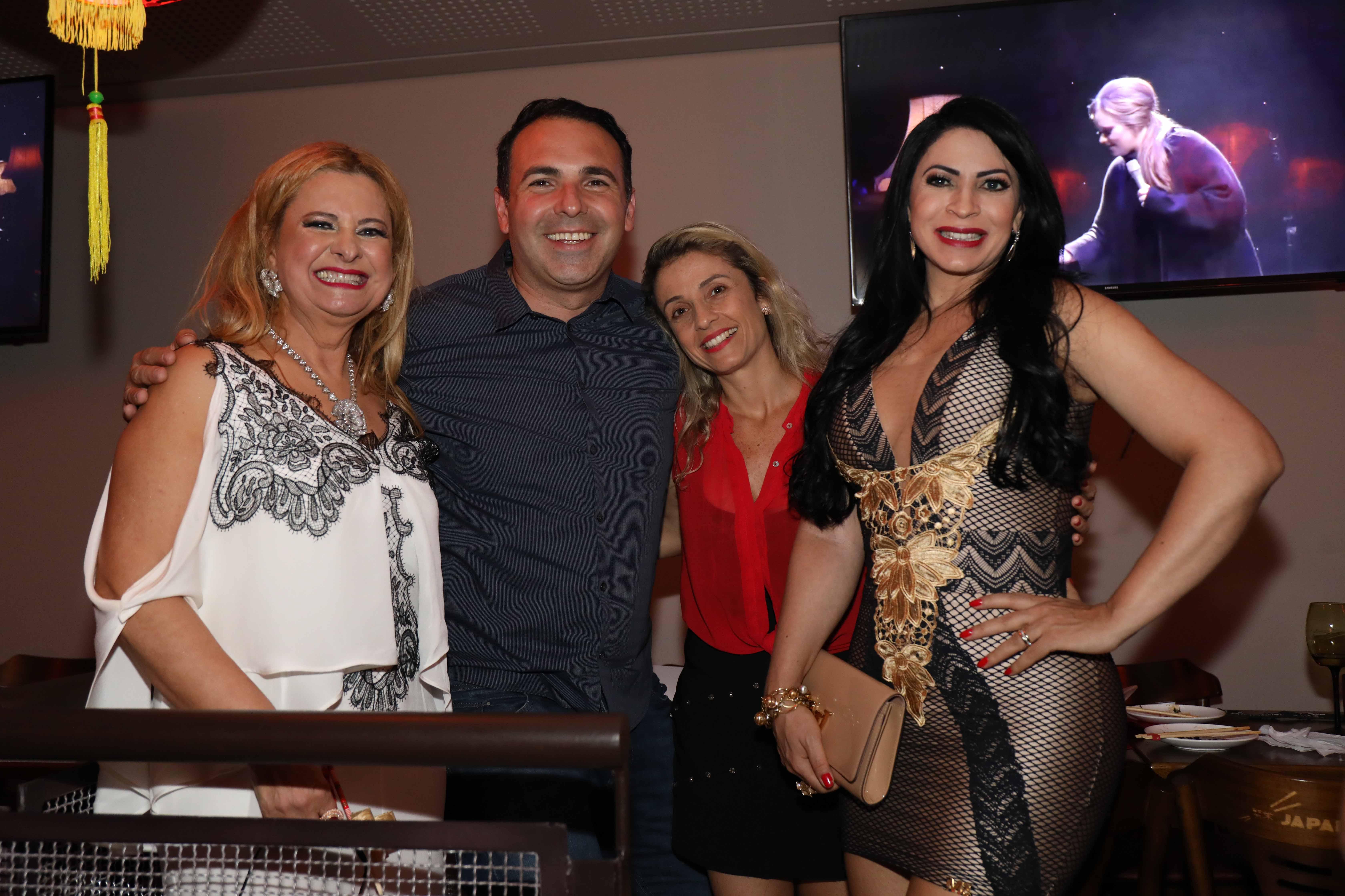 Lilian, Gottino e esposa e Silvia Design
