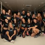 Aline Riscado - Bodytech SP- foto de Emerson Lima - foto 5 - com equipe